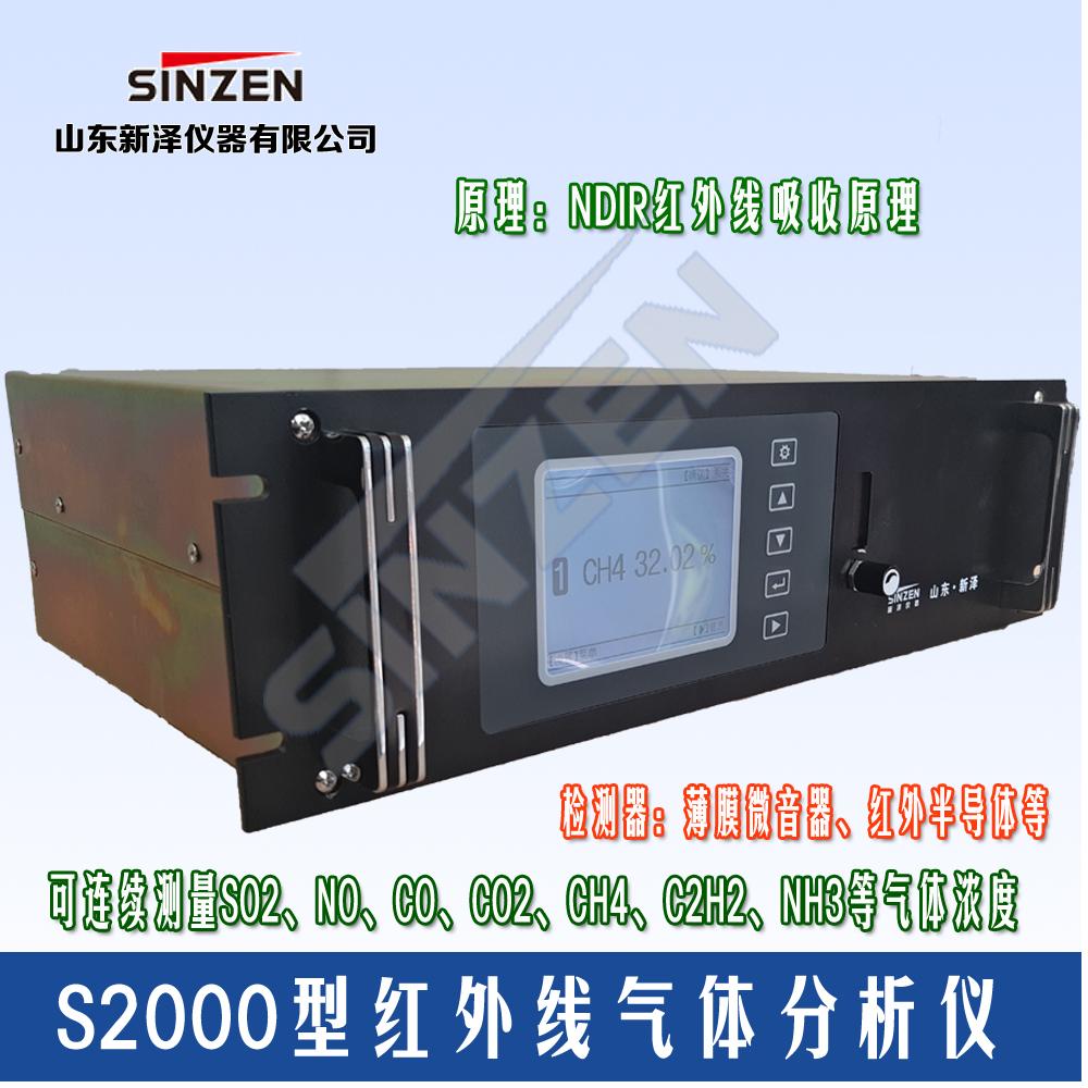 薄膜微音红外线气体分析仪