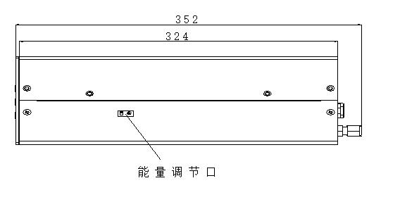 SUV-100型烟气分析仪结构图右视图