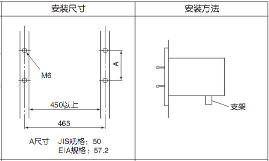 SUV-100型烟气分析仪安装图